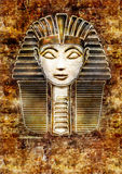 Sphinx Head - Hatshepsut Pharaoh Stock Photo