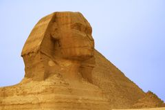 Sphinx In Close Up Stock Image