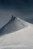 The Sphinx at the Jungfraujoch Stock Image