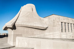 Sphinx at Liberty Memorial National World War I Museum Stock Photo