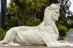 Sphinx like sculpture Royalty Free Stock Photo