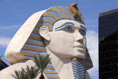 The Sphinx - Luxor Hotel and Casino - Las Vegas Stock Photo