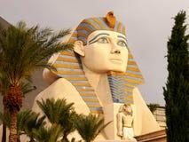 Sphinx at Luxor Hotel Las Vegas Stock Image