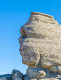 The Sphinx megalith rock formation in the Bucegi, Romania Royalty Free Stock Images