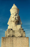 The Sphinx monument at the University embankment. Royalty Free Stock Image