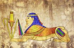 Sphinx - mythisches Geschöpf Lizenzfreie Stockbilder
