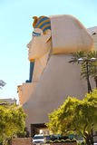 Sphinx near Luxor Hotel and Casino in Las Vegas. Stock Photography