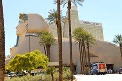 Sphinx near Luxor Hotel and Casino in Las Vegas. Stock Photo