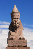 Sphinx on the Neva River, St. Petersburg Royalty Free Stock Photography