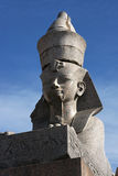Sphinx on the Neva shore Stock Images