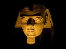 A sphinx by night. Stock Image