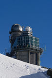 Sphinx Observatory / Jungfrau / Jungfraujoch / Top Of Europe Stock Image