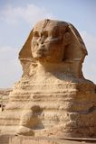Sphinx og Giza Lizenzfreie Stockfotografie