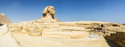 Sphinx panorama Stock Image