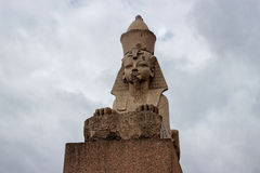Sphinx in petersburg Stock Image