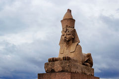 Sphinx in petersburg Royalty Free Stock Photos