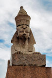 Sphinx in petersburg Royalty Free Stock Image
