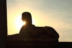 Sphinx in Piazza del Popolo, Rome Stock Image