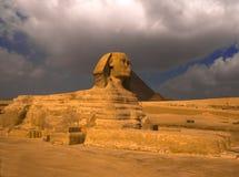 Sphinx-Profil Lizenzfreie Stockfotos