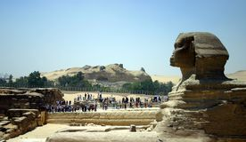 Sphinx in Profile Royalty Free Stock Photography