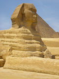 Sphinx. And pyramid, Cairo, Egypt Stock Image