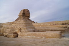 Sphinx Pyramids in Egypt Royalty Free Stock Image