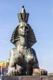 Sphinx on Robespierre. St. Petersburg. Royalty Free Stock Images