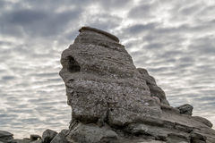The Sphinx natural rock formation Romania Royalty Free Stock Images