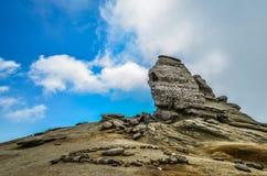 Sphinx Rumänien stockbild