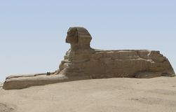 Sphinx sideways Royalty Free Stock Image