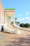 Sphinx stairway Big house  Palace Russia Moscow Ensemble Kuskovo Estate graphs Sheremetevs eighteenth century Stock Photo