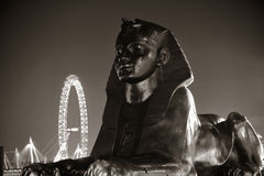 Sphinx statue in London Royalty Free Stock Photos