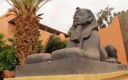 Sphinx statue mini copy Royalty Free Stock Photo