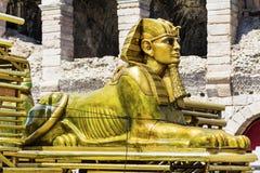 Sphinx statue Stock Photos