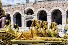 Sphinx statue Royalty Free Stock Photos