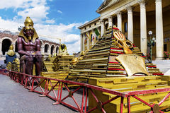 Sphinx statue Stock Photo