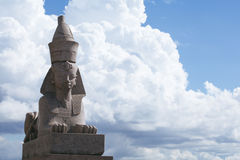 Sphinx statue in Saint Petersburg Stock Photo