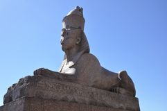 Sphinx statue in Saint Petersburg. Russia. Royalty Free Stock Image