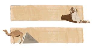 Sphinx und Kamel stock abbildung
