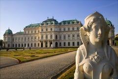 sphinx Vienne de palais de belvédère image stock