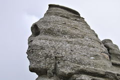 Sphinx von Bucegi-Bergen Stockfotografie