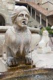 Sphinx von Contarini-Brunnen Lizenzfreie Stockfotografie