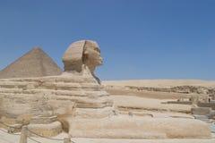Sphinx von Giza Stockfotos