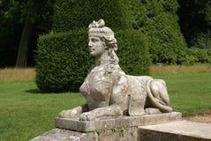 Sphinxstatue am Blenheim-Palastgarten in Woodstock, Oxfordshire, England, Europa Stockfoto