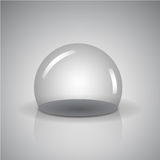 Sphère vide Photographie stock