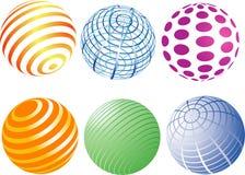 Sphères Photos libres de droits