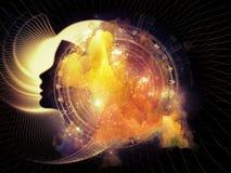 Sphères de la géométrie intérieure Image libre de droits