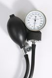 Sphygmomanometer. Sphygmomanometer on white background Stock Photography