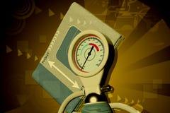 sphygmomanometer бесплатная иллюстрация