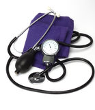 Sphygmomanometer. Close up,shallow dof Stock Photography